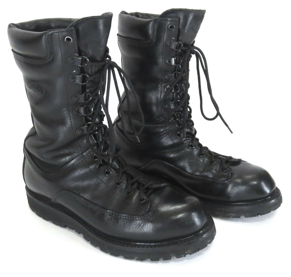 matterhorn 7 corcoran 10 quot black leather tex