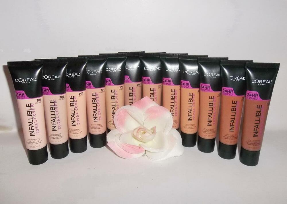 loreal infallible total cover 24hr full coverage