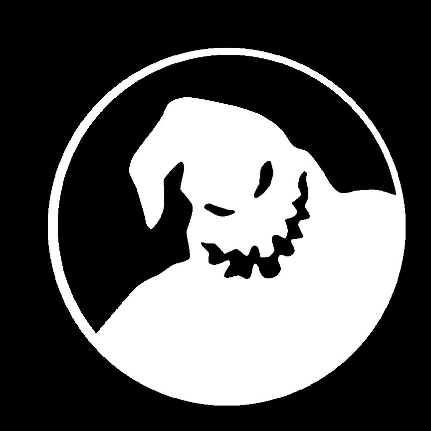 This is a picture of Breathtaking The Nightmare Before Christmas Logo