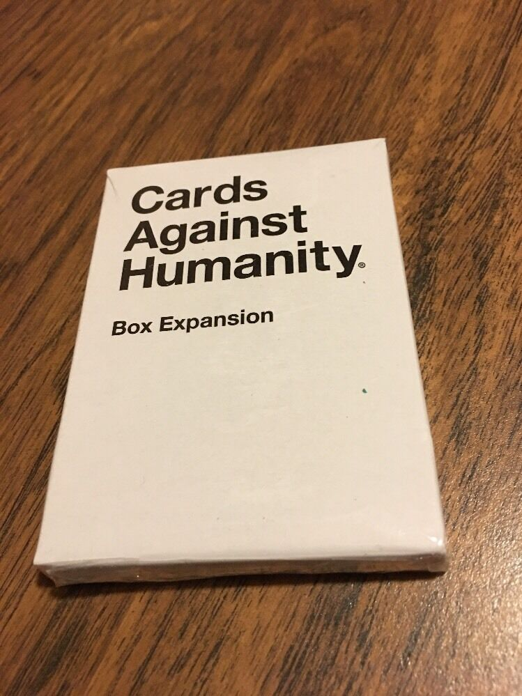 cards against humanity  box expansion  from the bigger
