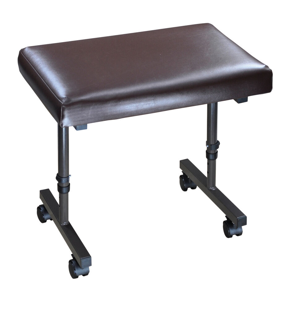Beaumont Height Adjustable Footrest Foot Stool Leg Rest