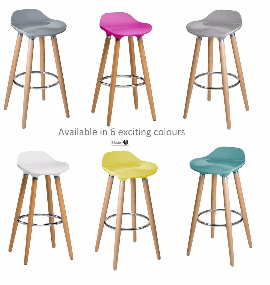 New Abs Bar Stool Retro Wood Leg Bar Stool In 5 Exciting