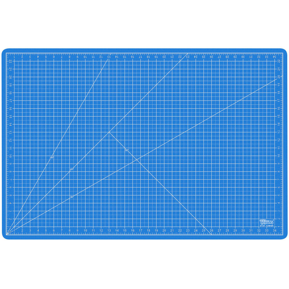 """24"""" x 36"""" PINK/BLUE Self Healing 5-Ply Double Sided ..."""
