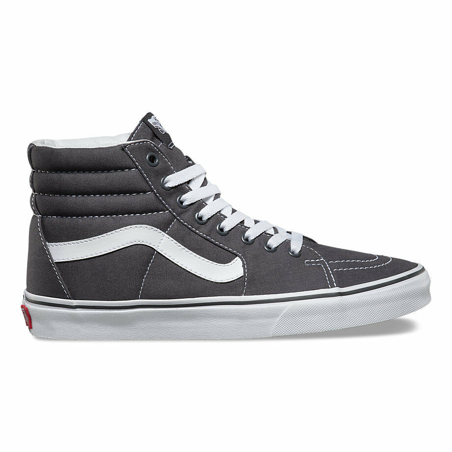 bf87742573 Details about Vans CANVAS SK8- HI Asphalt (Dark Grey) Skateboarding Shoes  Classic All Sizes