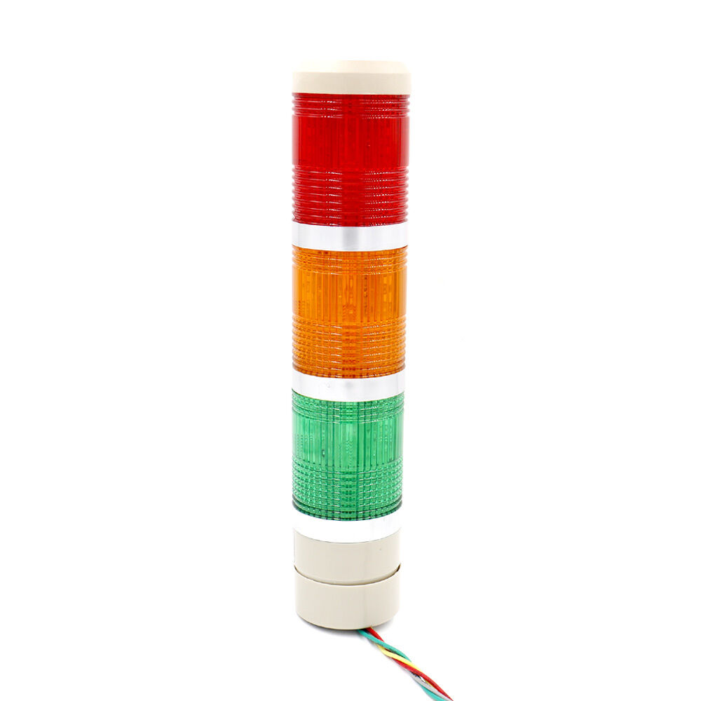 Alarm Warning Lamp Light Industrial LED Signal Tower Red
