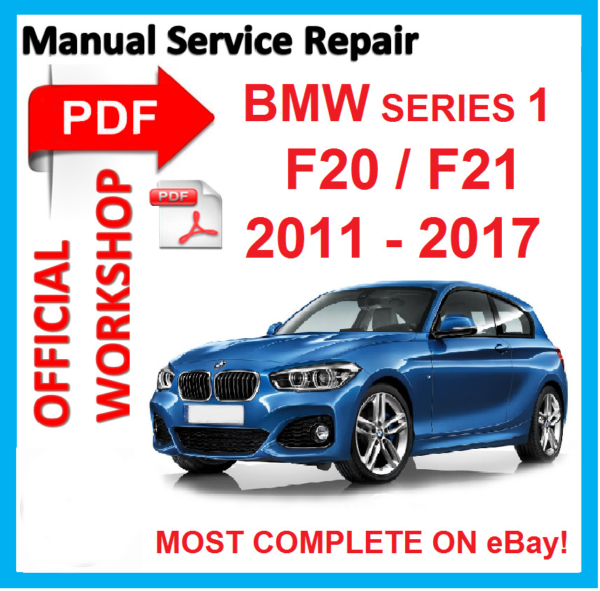 # OFFICIAL WORKSHOP MANUAL Service Repair FOR BMW Series 1