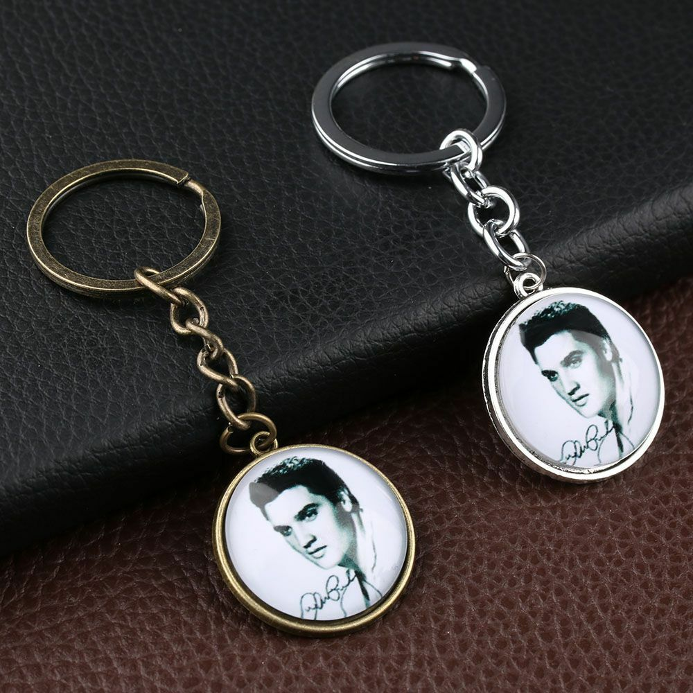 jewelry pendant portrait elvis key rings key