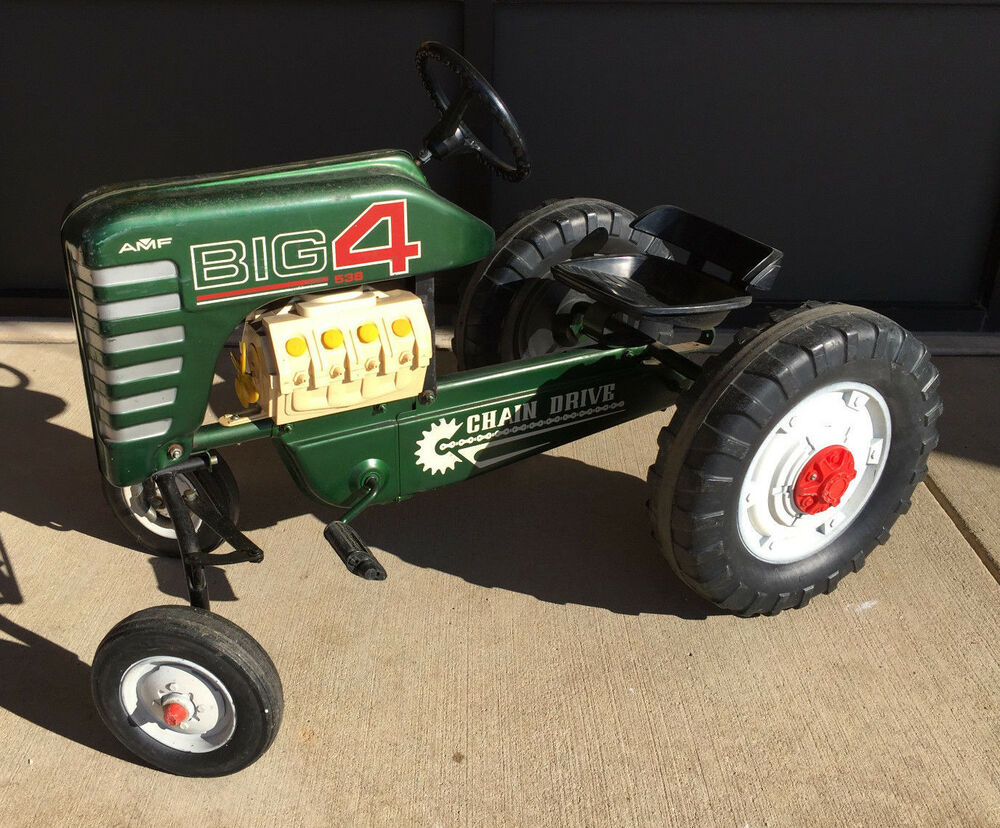 Tractor Chain Drive : S amf big chain drive toy pedal tractor ebay
