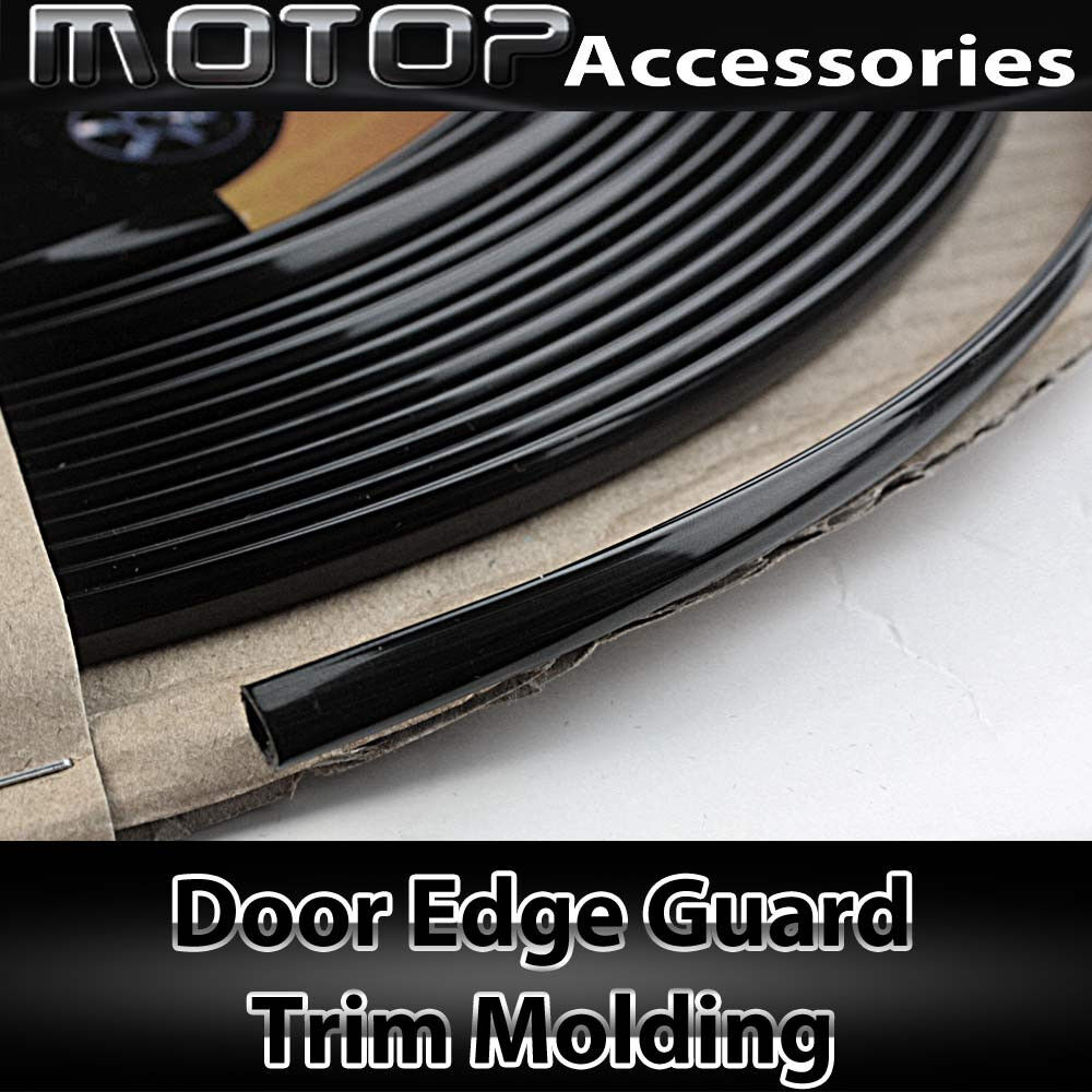 40ft 1220cm chrome black car door edge guard moulding trim for Door edge trim