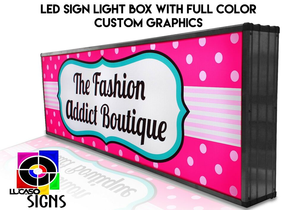 how to create a led sign with graphics