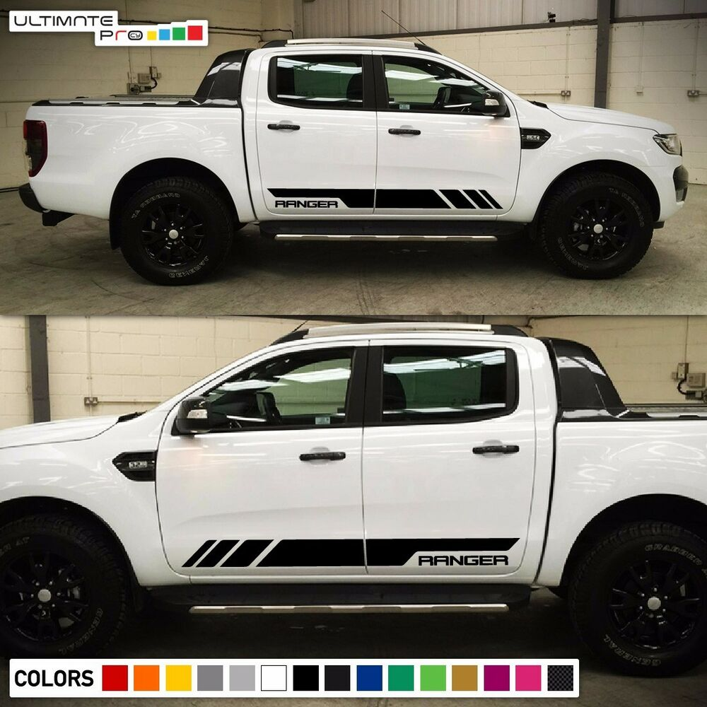 Decal Sticker Stripe kit For Ford Ranger T6 2011-2017 Wildtrak Grille Light LED | eBay