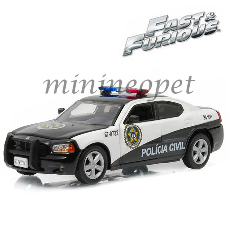 GREENLIGHT 86237 FAST AND FURIOUS 5 2006 DODGE CHARGER RIO