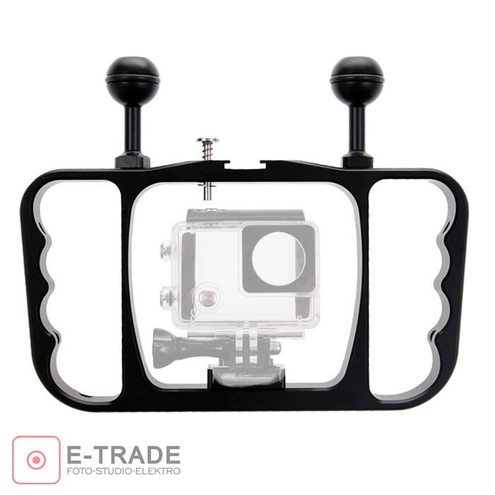 tauchen fotografie halterung f r gopro hero 3 3 4. Black Bedroom Furniture Sets. Home Design Ideas