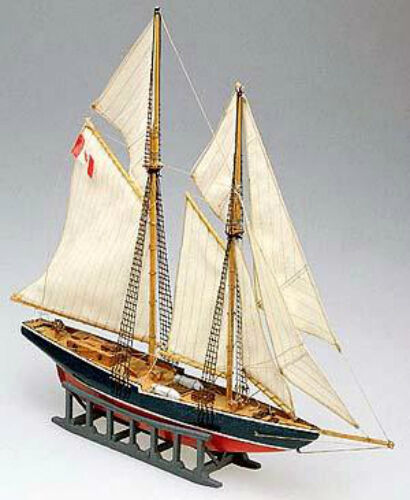Ships Canada Us Wide Wood Sign: Beautiful, Mini Wooden Model Ship Kit By Mamoli: The