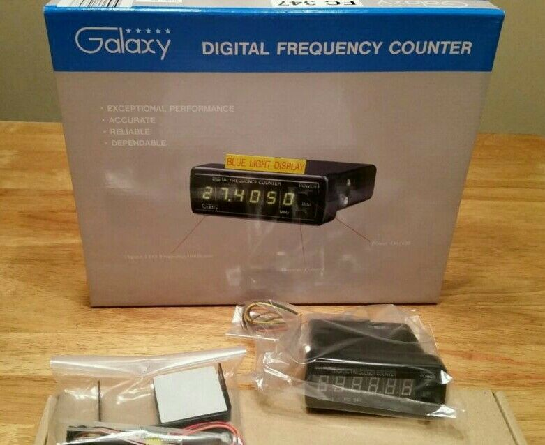 Cb Frequency Counter : Galaxy fc cb ham meter radio digit frequency
