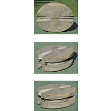 Early Antique WOOD MARITIME SHIP PULLEY RARE!