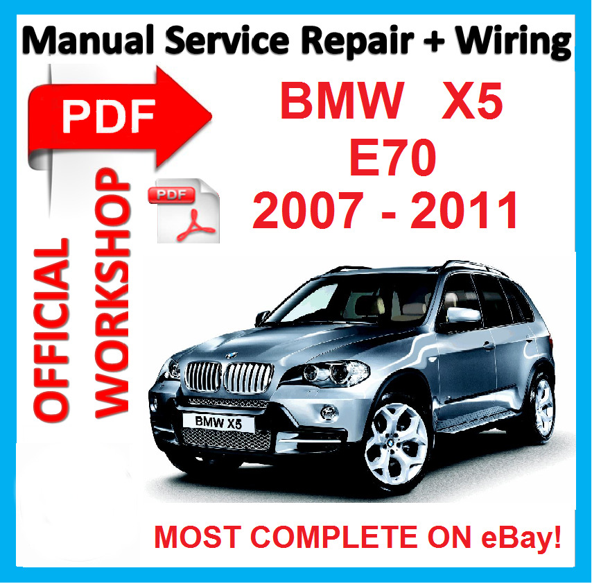 #FACTORY WORKSHOP MANUAL Service Repair FOR BMW X5 E70