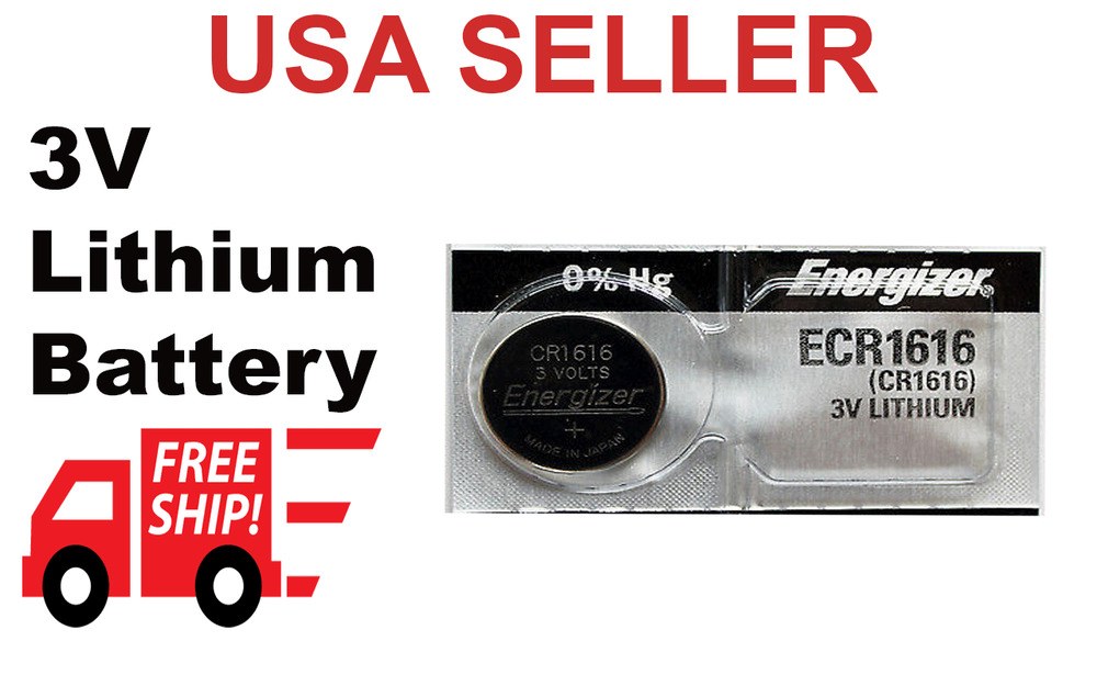 Honda Civic Key Replacement >> HONDA CIVIC KEY FOB BATTERY REPLACEMENT REMOTE KEYLESS ENTRY 2 PACK CR1616   eBay