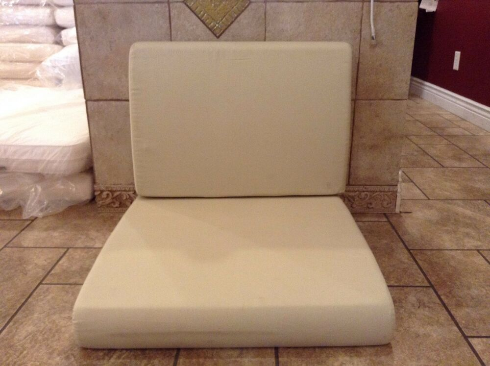 Frontgate TAN Lounge Outdoor Sofa Pool Patio Replacement