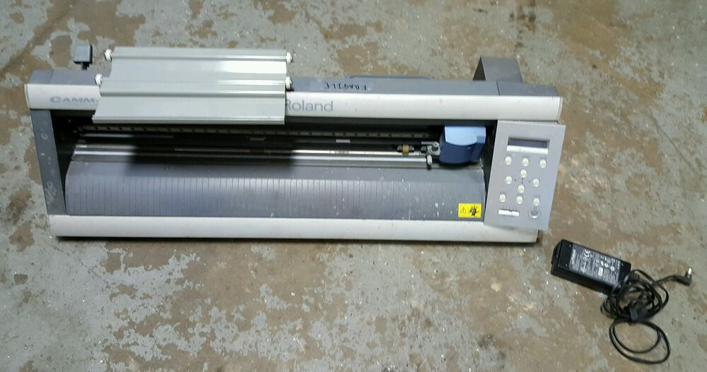 Roland Camm 1 Servo Gx 24 Graphics Vinyl Printer Cutter Ebay
