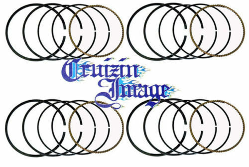 Yamaha Fzx750 Fzx750l 3xf Standard Piston Rings Set 4 Rings Include