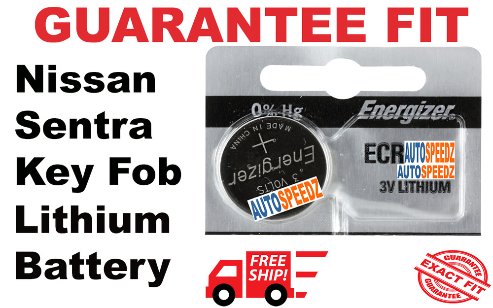 NISSAN SENTRA 2013-2017 KEY FOB BATTERY REPLACEMENT SMART ...