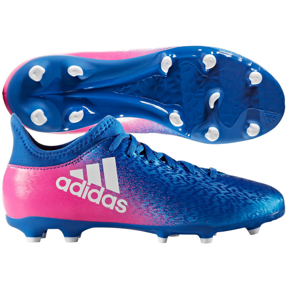 adidas x 163 fg 2017 soccer shoes cleats blue pink