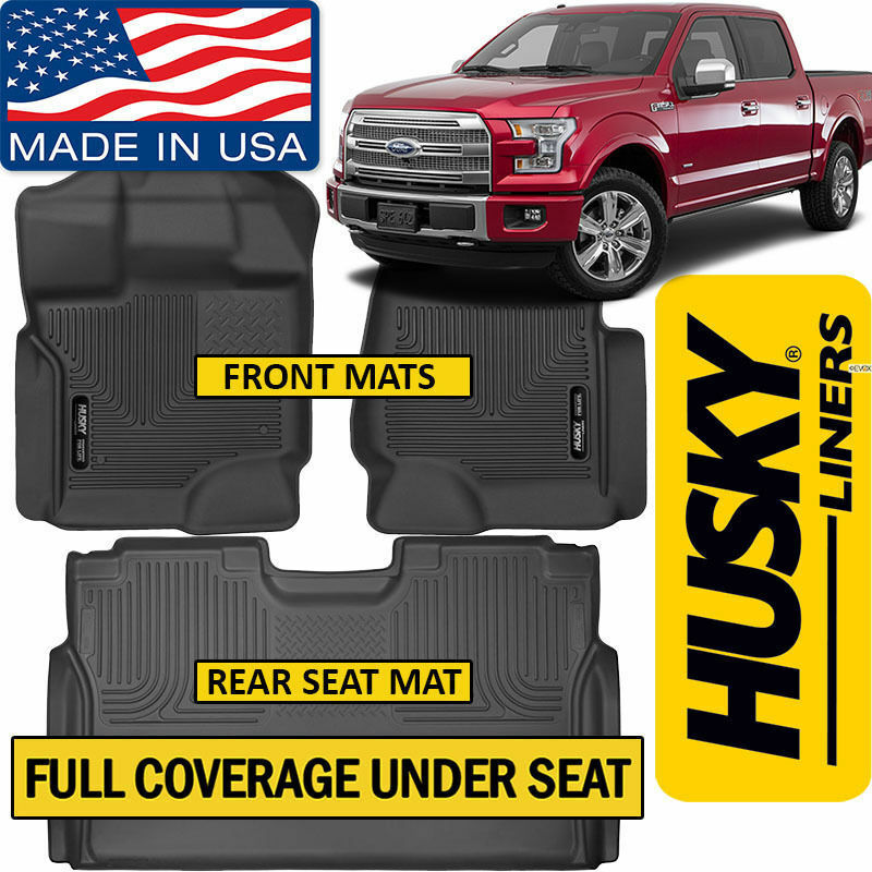 2015 Ford F150 Supercrew Cab Interior: Husky Liners X-Act Contour 2015-2019 Ford F-150 SuperCrew