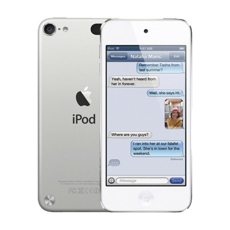 Apple iPod Touch 5th Generation Silver & White (16GB ...  Apple iPod Touc...