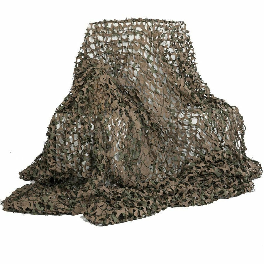 Large Military Surplus Camo Netting Tent Camouflage