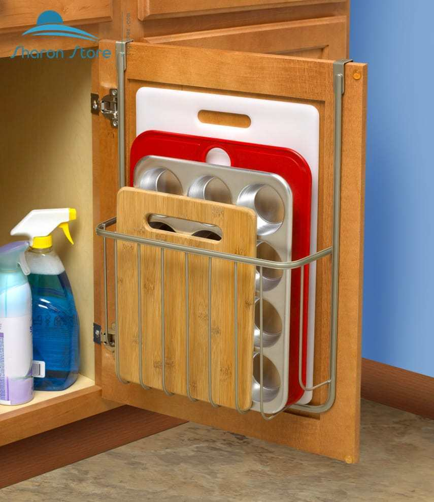 kitchen cabinet racks the door pantry organizer rack kitchen storage 19373