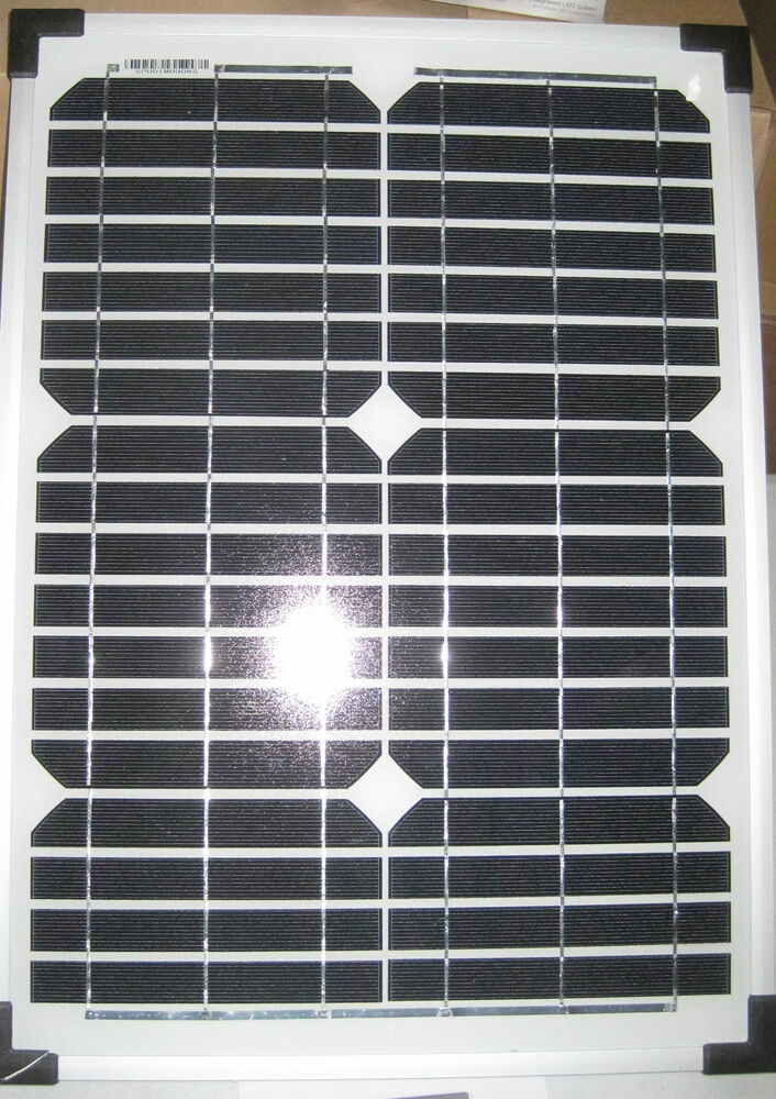 12v 25w Coleman Sunforce 25 Watt Solar Panel 12 Volt