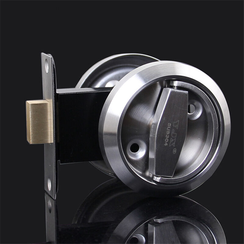 Stainless Steel 304 Recessed Cup Handle Privacy Door Locks