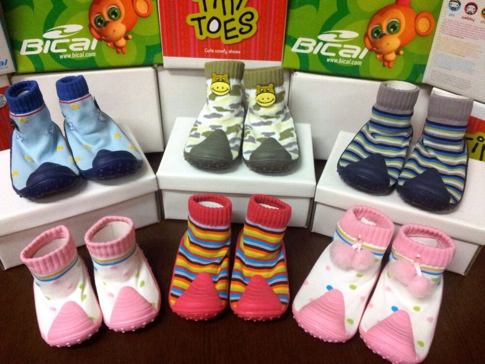 Boys Girls Infant Toddlers Tiny Toes / Bical Baby Shoes ...