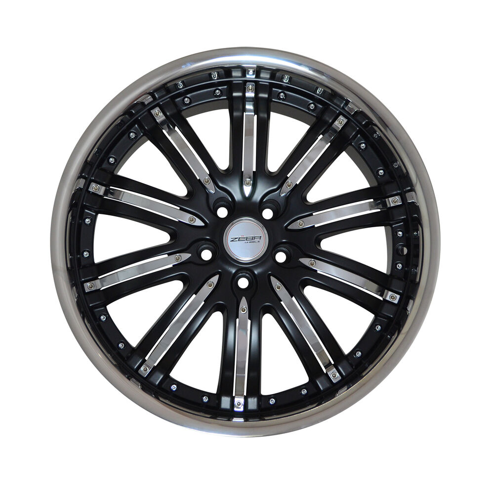 4 GWG Wheels 20 Inch Matt Black NARSIS Rims Fits ACURA TL