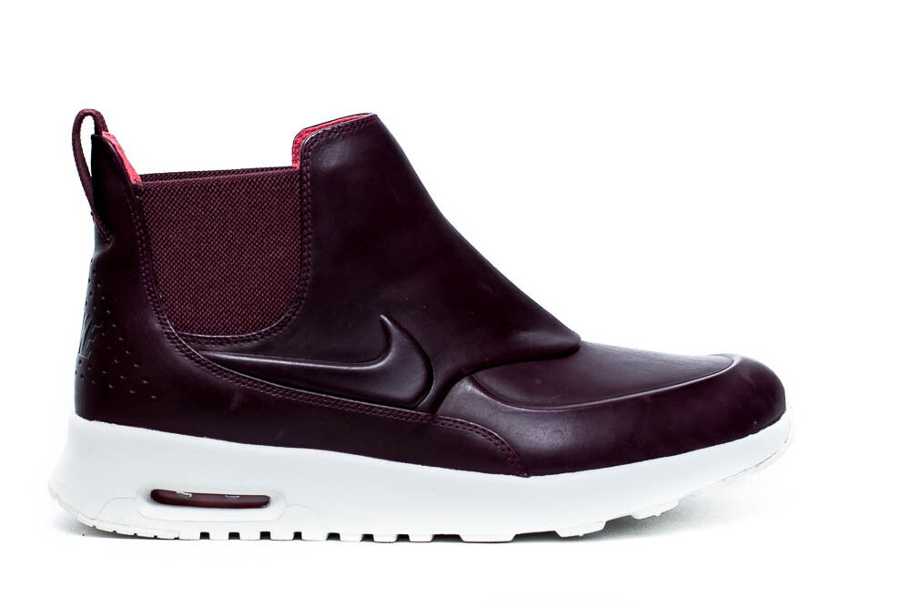 Womens Nike Air Max Thea Mid Boots Size 6 5 Night Maroon