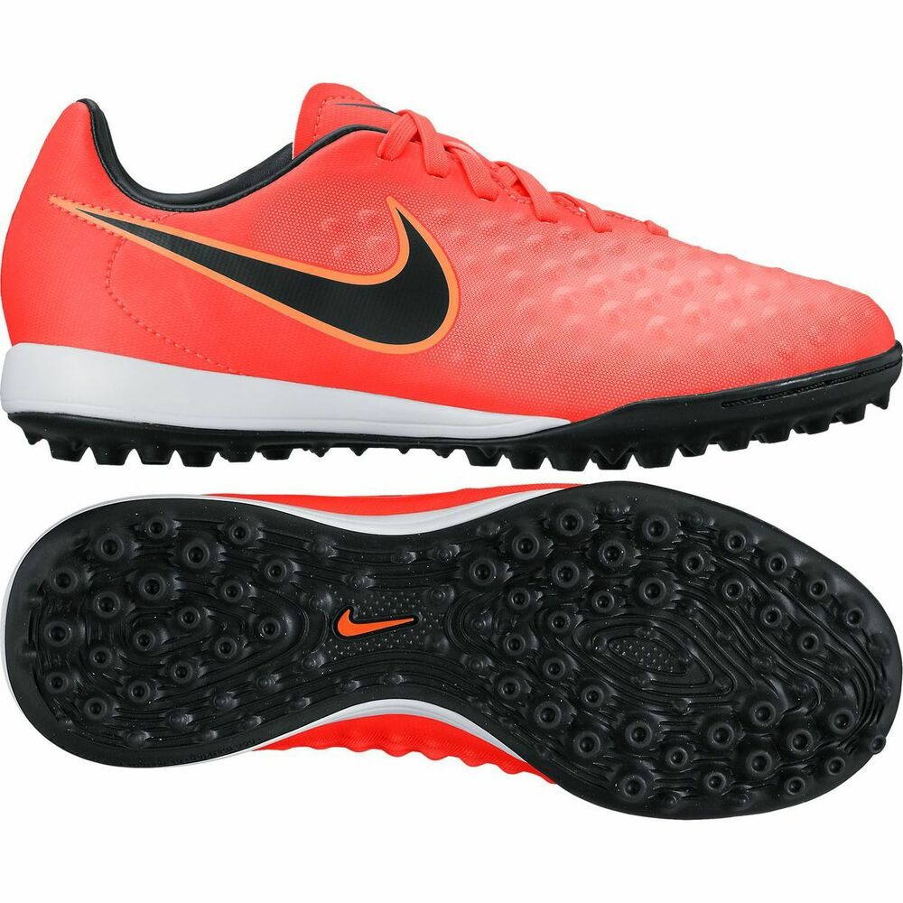 0b7ff0b49ad Details about Nike Magista X Opus II TF Turf 2017 Soccer Shoes Orange    Black Kids - Youth