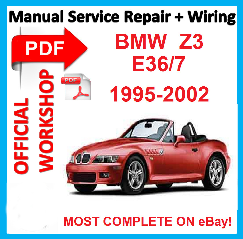 official workshop manual service repair for bmw z3 e36 7 1995 2002 rh ebay co uk bmw z3 service manual bentley bentley publishers bmw z3 service manual