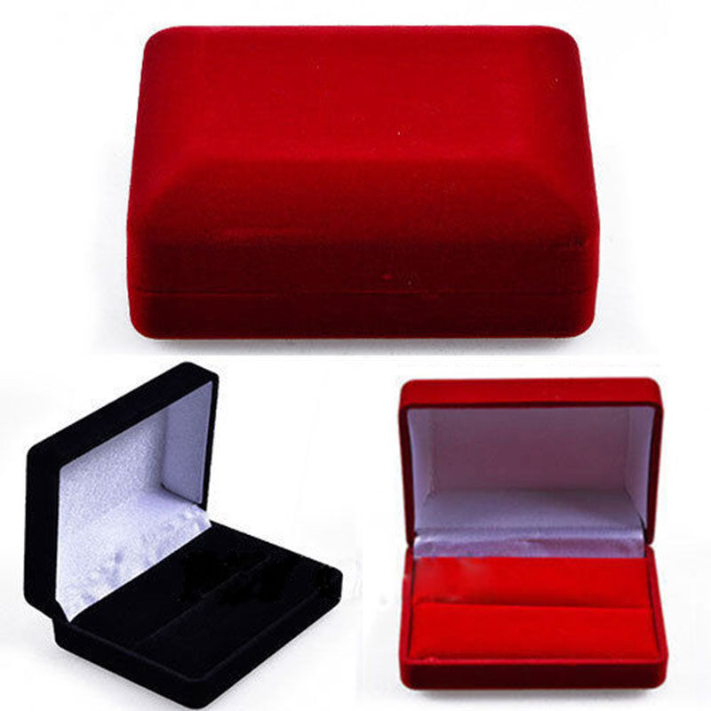 Gift Jewelry Necklace Bracelet Pendant Display Box Case for Wedding ...