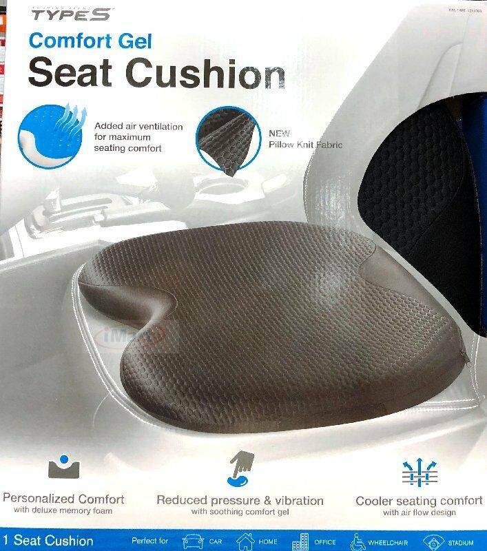 Ultimate Gel Seat Cushion Comfort Amp Cooling Gel Deluxe