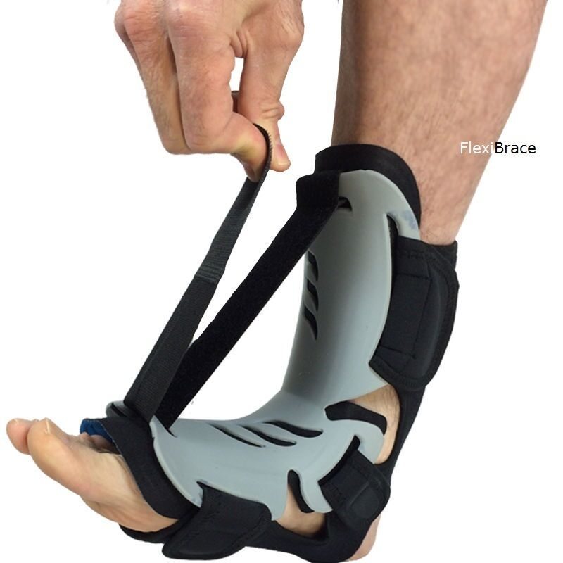79f98acf47 AFO Tendonitis Flexibrace Adjustable Dorsal Plantar Fasciitis Night Splint  Brace