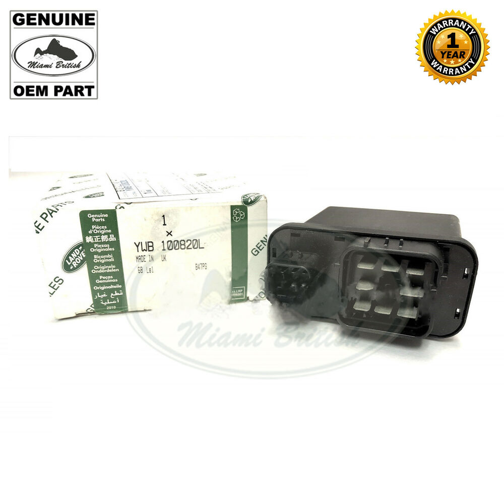 Land rover fuel pump relay discovery ywb l