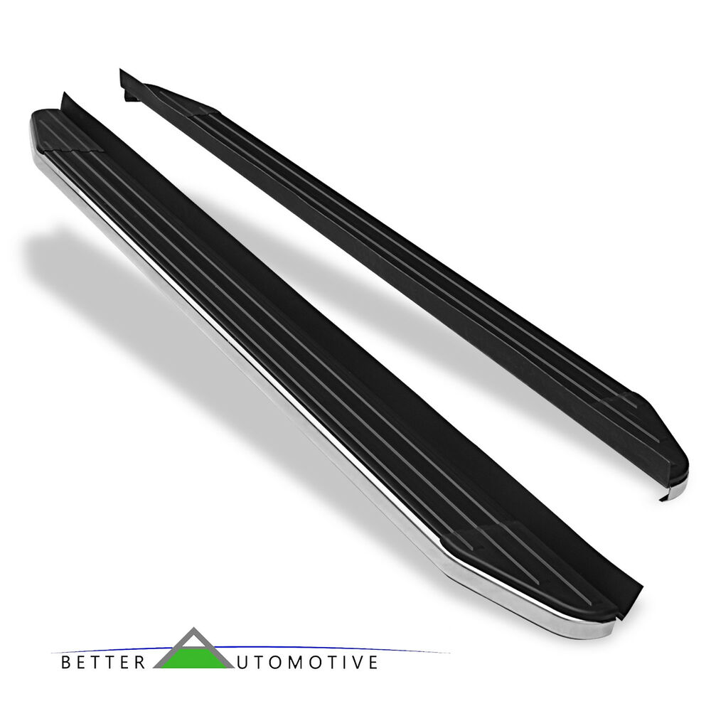 6 Quot Running Boards Nerf Bars Black For 2011 2018 Jeep Grand Cherokee Excl Srt Ebay
