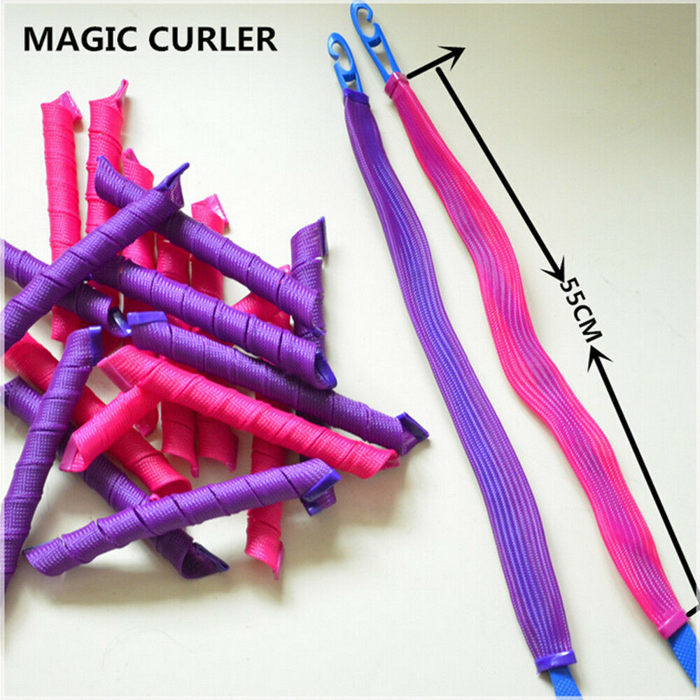 magic leverag circle hair styling roller curler 40pcs 55cm diy magic leverag hair curlers tool styling 3677