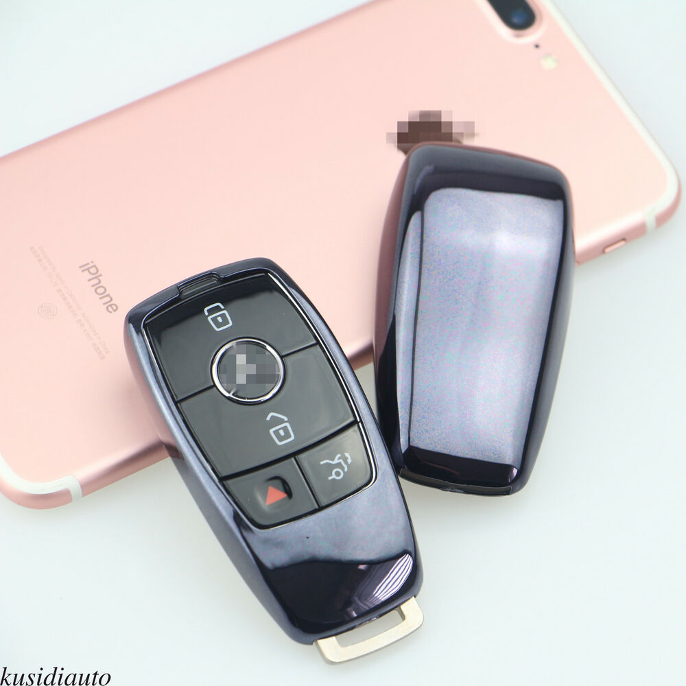 2017 mercedes benz e class remote smart black tpu key for Mercedes benz remote key