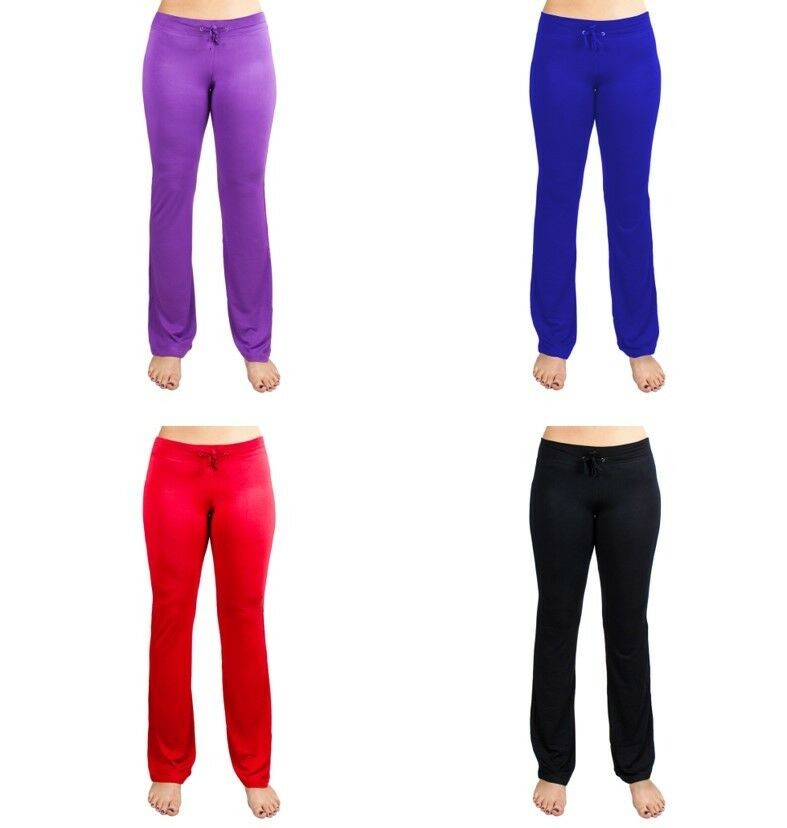 Relaxed Fit Performance Yoga Pants With Boot Cut Legs