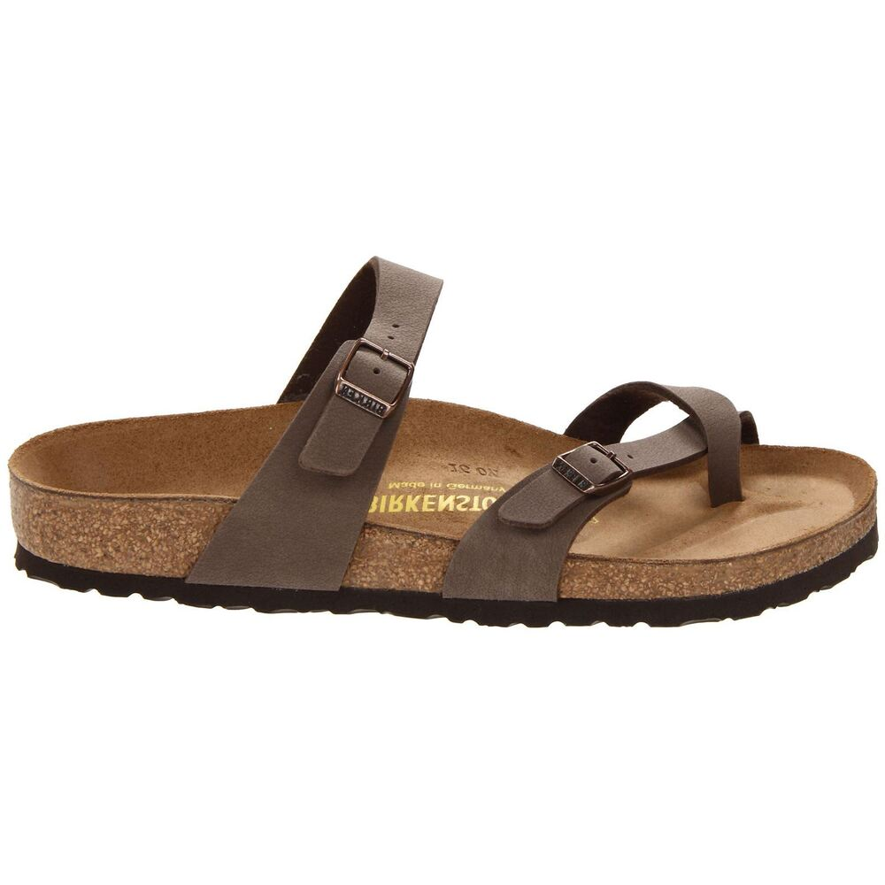 Birkenstock Mayari Brown Womens Sandals Ebay