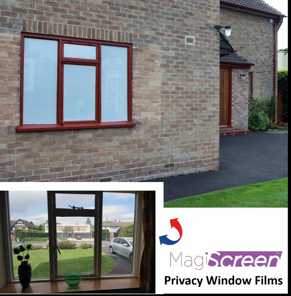 One way vision window film for daytime privacy white for 2 way privacy window film