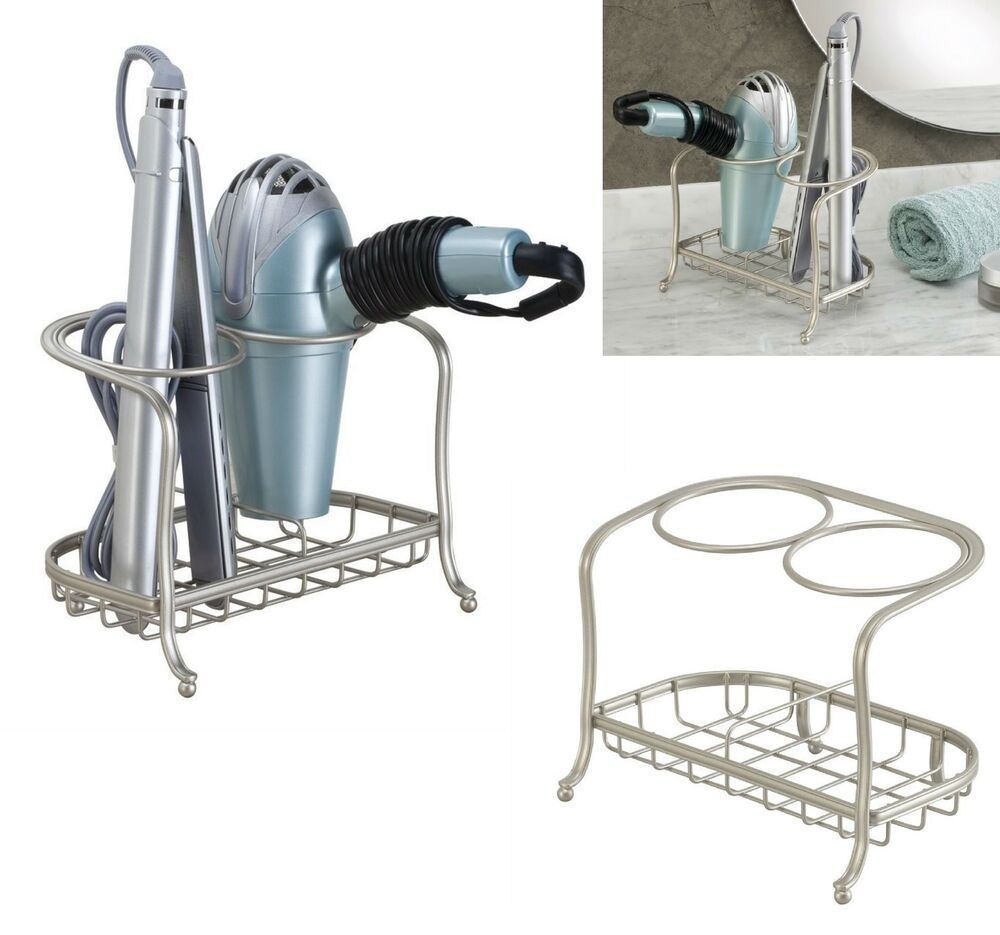 Blow Dryer Holder Flat Iron Curling Stand Hair Care