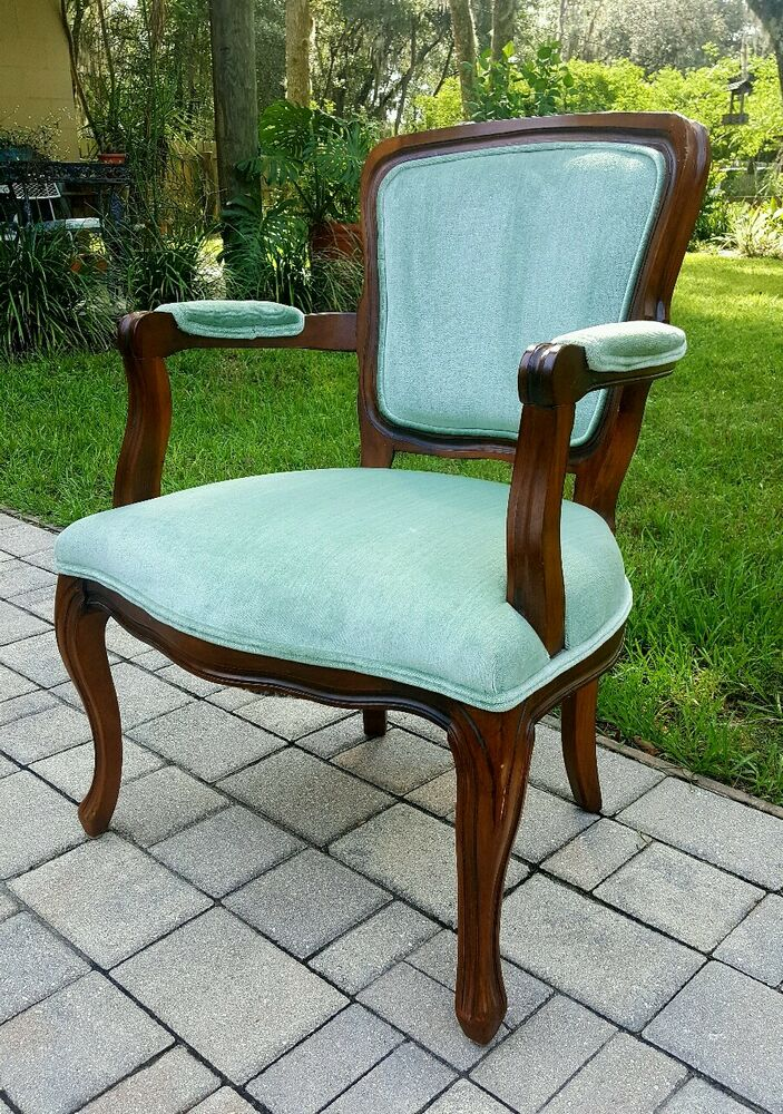 French Wooden Chairs ~ Beautiful vintage french provincial country carved wood